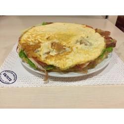 tortilla patata vegetal